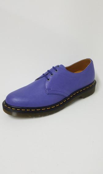 Zapato Dr Martens Lila Hombre Original Moderno