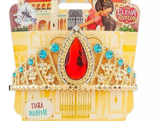 Corona Tiara Elena Avalor Princesa Disfraz Disney
