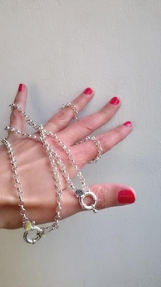 Conjunto Cadena,pulsera Y Anillo De Plata 925. 3 Productos!