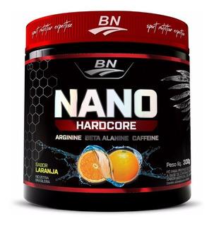 Pre-treino Nano Hardcore 300g Laranja - Bio Nutrition