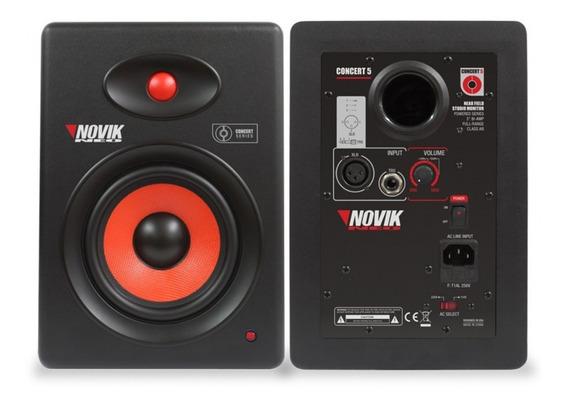 Kit (par) Monitor De Referência Estúdio Novik Neo Concert 5
