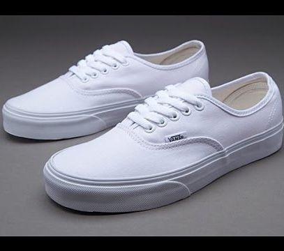Zapatillas Vans Mod Authentic White (originales!)