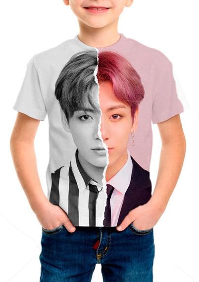 Camiseta Infantil Bts (bangtan Boys) Jungkook - M01