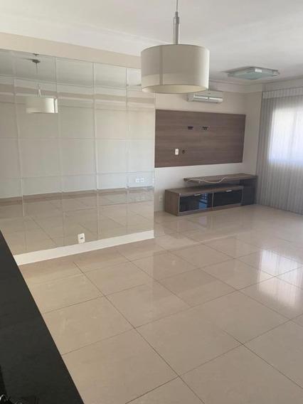 Mansões Santo Antônio - Apartamento Com 03 Dormitórios Sendo 01 Suíte, 02 Vagas Cobertas Para Alugar, 96 M² Por R$3.500/mês - Ap0882