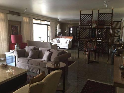 Cobertura Com 5 Dormitórios À Venda, 680 M² Por R$ 2.700.000,00 - Cambuí - Campinas/sp - Co0232