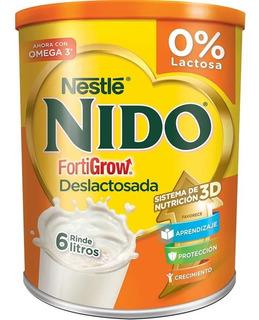 Nido Nestle Deslactosada Escolar Formula 800gr X 6 Paquetes