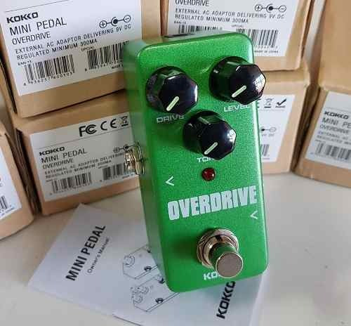 Mini Pedal Overdrive Kokko Timbre Classico Rock Massa Top A