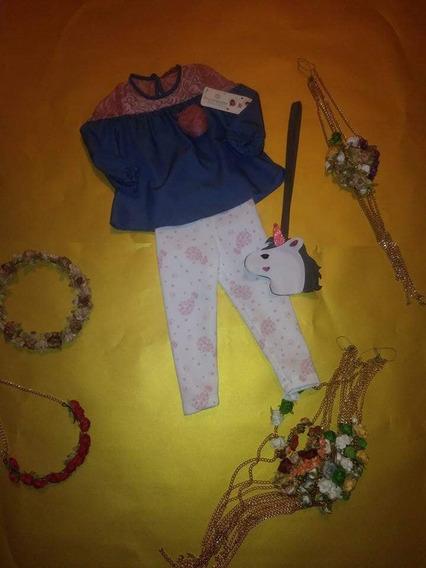 Conjunto De Unicornio De Niña