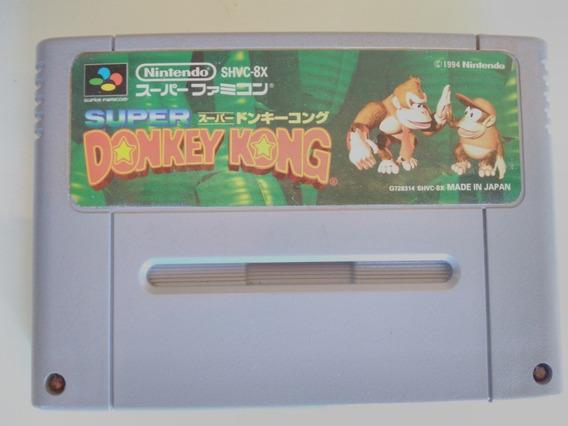 Donkey Kong Country Original Salvando Super Nintendo Snes