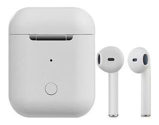 Auricular Stereo Bluetooth Con Base I8s