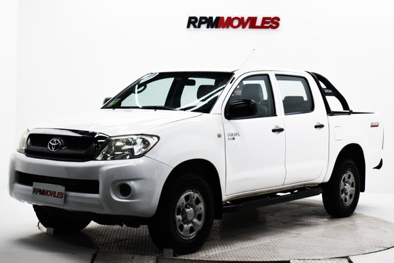 Toyota Hilux Dx 4x2 Manual Doble Cab 2011 Rpm Moviles