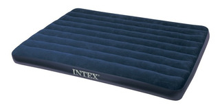 Colchon Inflable Intex 2 Pl 68758 Azul