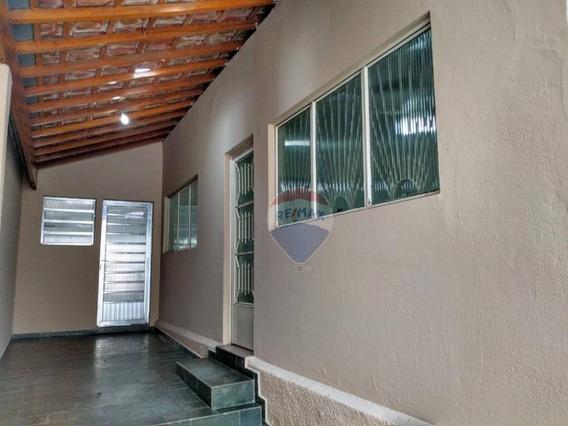 Casa Comercial No Centro De Nova Odessa Com 4 Dormitórios E 2 Banheiros. - Ca0287