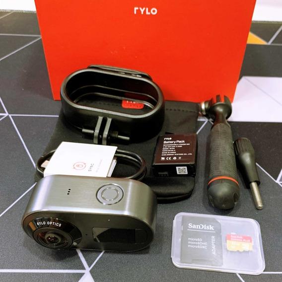 Câmera Rylo | 360º | 5.8k | Microsd 32gb | Na Caixa | Usado