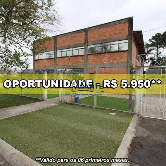 Barracão Para Alugar, 760 M² Por R$ 5.950/mês - Cidade Industrial - Curitiba/pr - Ba0032