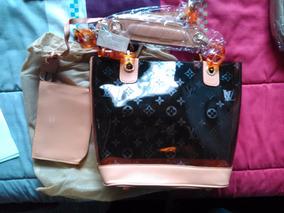 Cartera Transparente Tipo Estilo Louis Vuitton