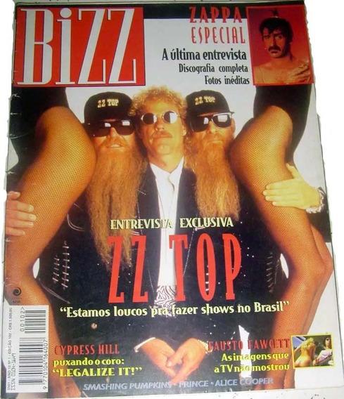 Revista Bizz 102 - Janeiro 1994 - Frank Zappa Cypress Hill