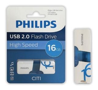 Pendrive Philips Usb 2.0 Citi 16gb .: Mundotecno :.