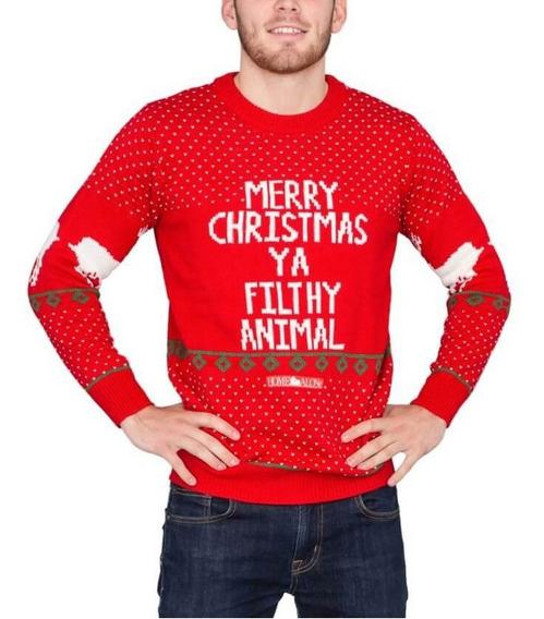 Suéter Navideño Navidad Ugly Christmas Sweater Envío Gratis