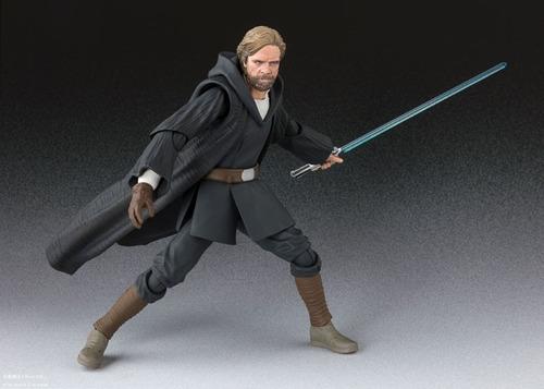 Imagen 1 de 10 de Disponible Sh Figuarts Jp Luke Skywalker Star Wars Last Jedi