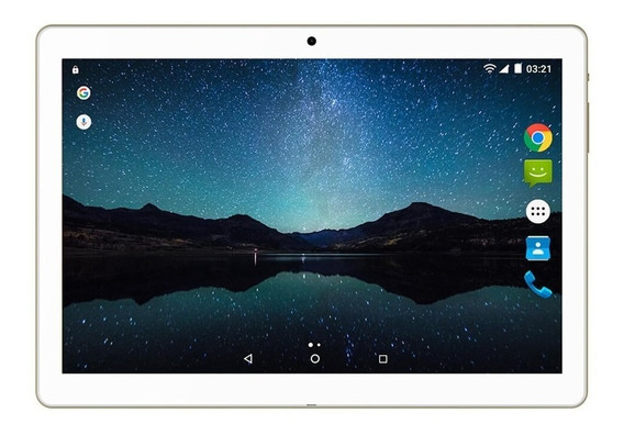 Tablet M10a Preto Lite 3g Android 7.0 10 Dourado Nb268
