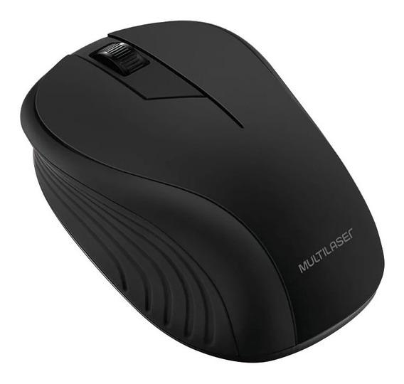Mouse Sem Fio Multilaser Mo212 2.7 Ghz 1200 Dpi Preto