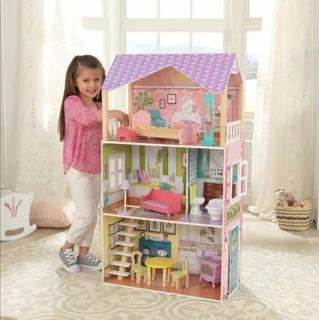 Casita De Muñecas Kidkraft Poppy Dollhouse,nueva,envío Y Msi