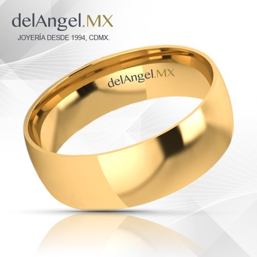 b2de3a877924 Anillos Matrimonio Oro 14k Comfort Light 6mm 13432-146 -   3