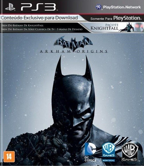 Batman Arkhan Origins - Ps3 - Midia Fisica - Frete Gratis