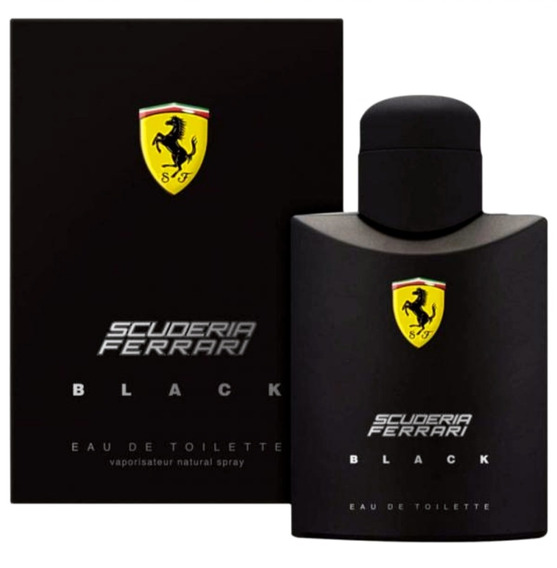 Perfume Ferrari Black 125 Ml - Original Masculino