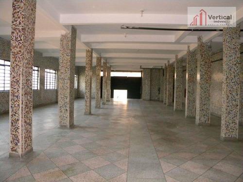 Salão, 360 M² - Venda Por R$ 2.100.000,00 Ou Aluguel Por R$ 5.800,00/mês - Penha - São Paulo/sp - Sl0092