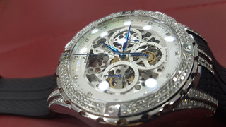 Reloj Edox Edición Limitada Sea Dubai Con Diamantes