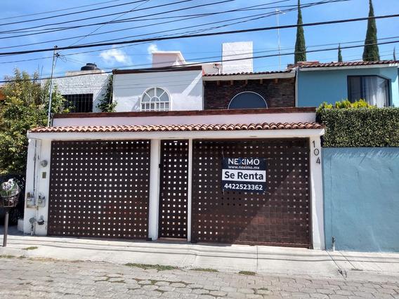Casa En Renta Cerca De Tejeda En La Joya En Querétaro
