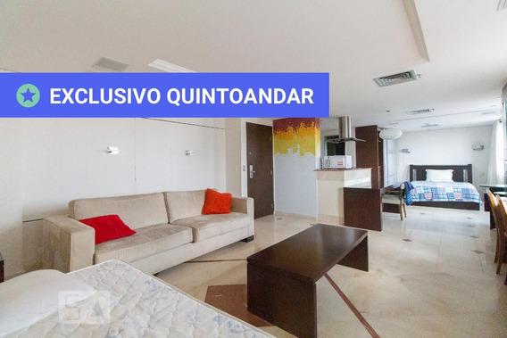 Studio No 15º Andar Mobiliado Com 1 Dormitório E 1 Garagem - Id: 892899906 - 199906