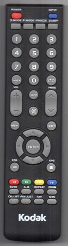 Imagen 1 de 1 de Control Remoto Tv Led Kodak