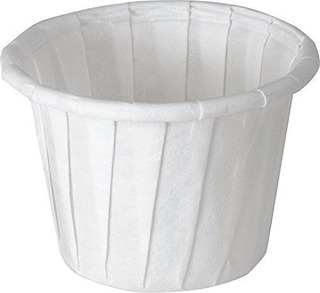Solo Souffle Cup White Paper Disposable .75
