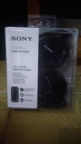 Fone Sony Lacrado Preto