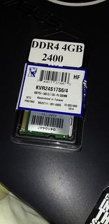 Memoria Ram Ddr4 4gb 2400mhz