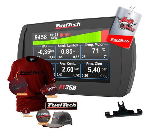 Ft350 Fueltech S/ Chic + Mega Brinde Camiseta Bordo Gel Bc