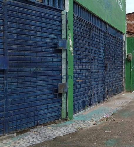 Imagem 1 de 9 de Galpão, 480 M² - Venda Por R$ 500.000,00 Ou Aluguel Por R$ 1.500,00/mês - Siqueira - Fortaleza/ce - Ga0004