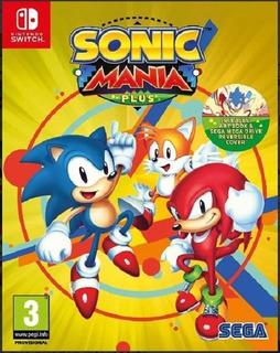 Nintendo Switch. Sonic Mania Plus (nuevo Sellado)