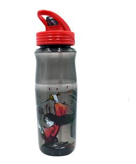 Termo Botella De Agua Mulán Disney 828ml Cilindro Con Popote