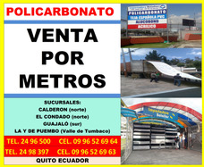 Policarbonato Por Metros Techos, Pergolas, Tejas Española A7