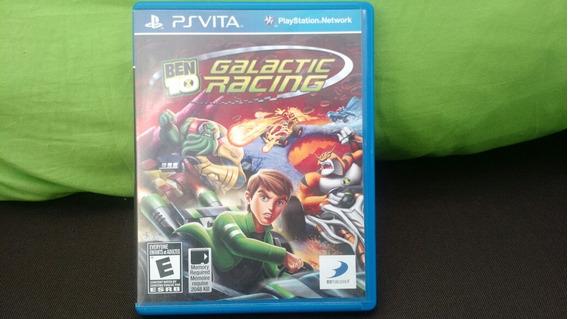 (frete Grátis) Ben 10 Galatic Racing Ps Vita