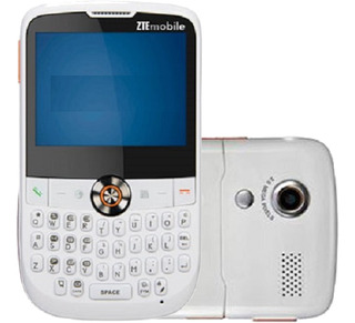 Celular Zte X990 2g Câm 2.0mp Mp3 Fm Single, Branco Novo