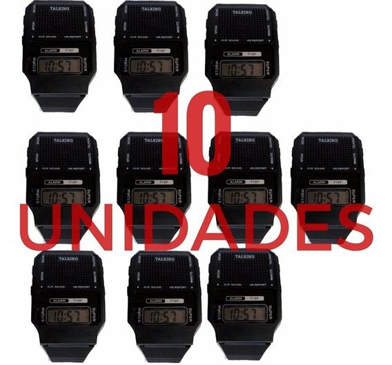 10 Un Relógio Fala Hora Em Português P/ Idoso Def Visual