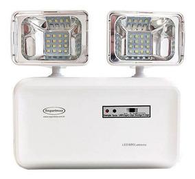 Luminaria Emergencia Segurimax 2 Farois 600 Lumens B9
