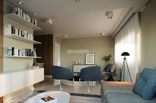 Apartamento Para Comprar Com 2 Quartos E 1 Vaga Em Bela Vista - Pj53722