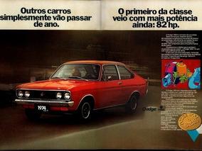 Dodge Polara De Luxo 4 Farois Ano 1977 Pra Restaurar Todas P