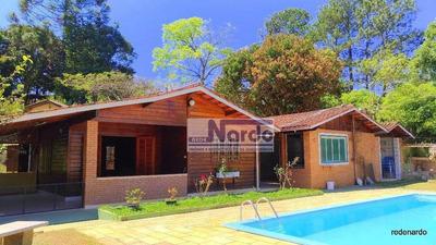 Excelente Chácara Com 6.000m² A Venda No Bairro Da Água Comprida Bragança Paulista. - Ch0004